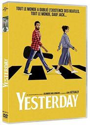 Yesterday / Danny Boyle, réal.  | Boyle , Danny . Metteur en scène ou réalisateur