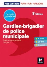 Gardien-brigadier de police municipale : Fonction publique territoriale : Catégorie C |