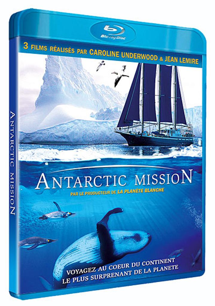 Antarctic mission = Antartic mission / Jean Lemire, Caroline Underwood, réal.  | Lemire , Jean . Metteur en scène ou réalisateur
