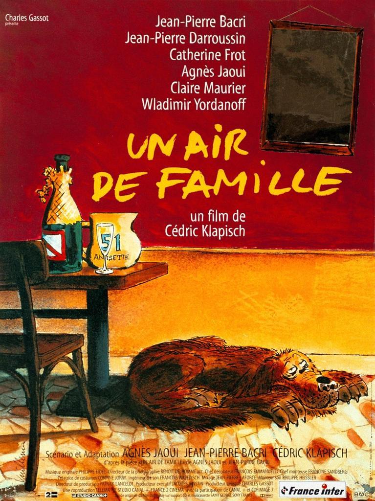 Un air de famille / Cédric Klapisch, réal., scénario, adapt.  