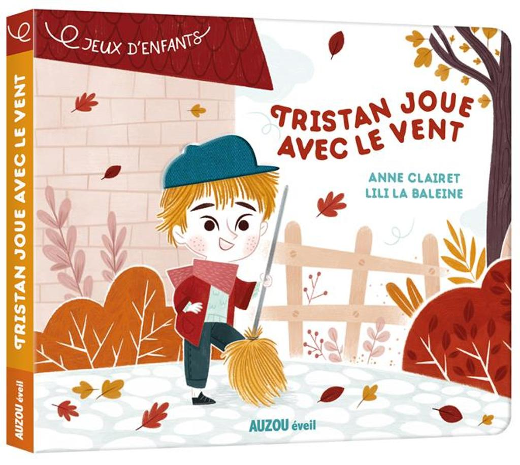 Tristan joue avec le vent : une histoire à toucher / Anne Clairet  