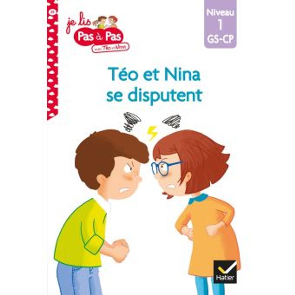 Téo et nina se disputent : niveau1 / Isabelle Chavigny | Chavigny, Isabelle. Auteur
