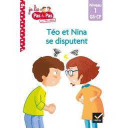 Téo et nina se disputent : niveau1 / Isabelle Chavigny   Chavigny, Isabelle. Auteur
