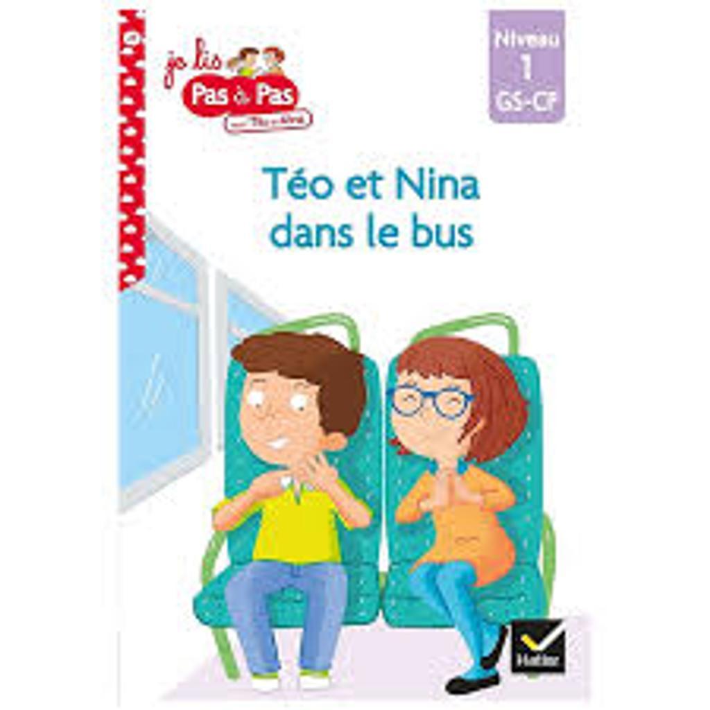 téo et Nina dans le bus : niveau1 / Isabelle Chavigny | Chavigny, Isabelle. Auteur