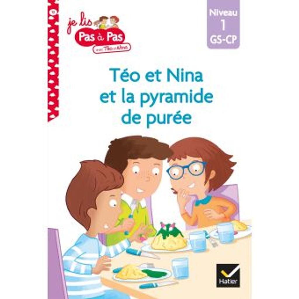 La pyramide de purée : niveau1 / Isabelle Chavigny | Chavigny, Isabelle. Auteur