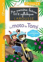 La moto de Tomi : CP niveau1 / Hélène Heffner | HEFFNER, Hélène. Auteur