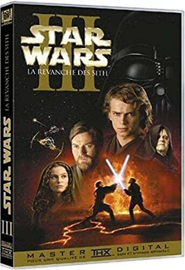 Star wars. Épisode III, La revanche des Sith / George Lucas, réal., scénario  