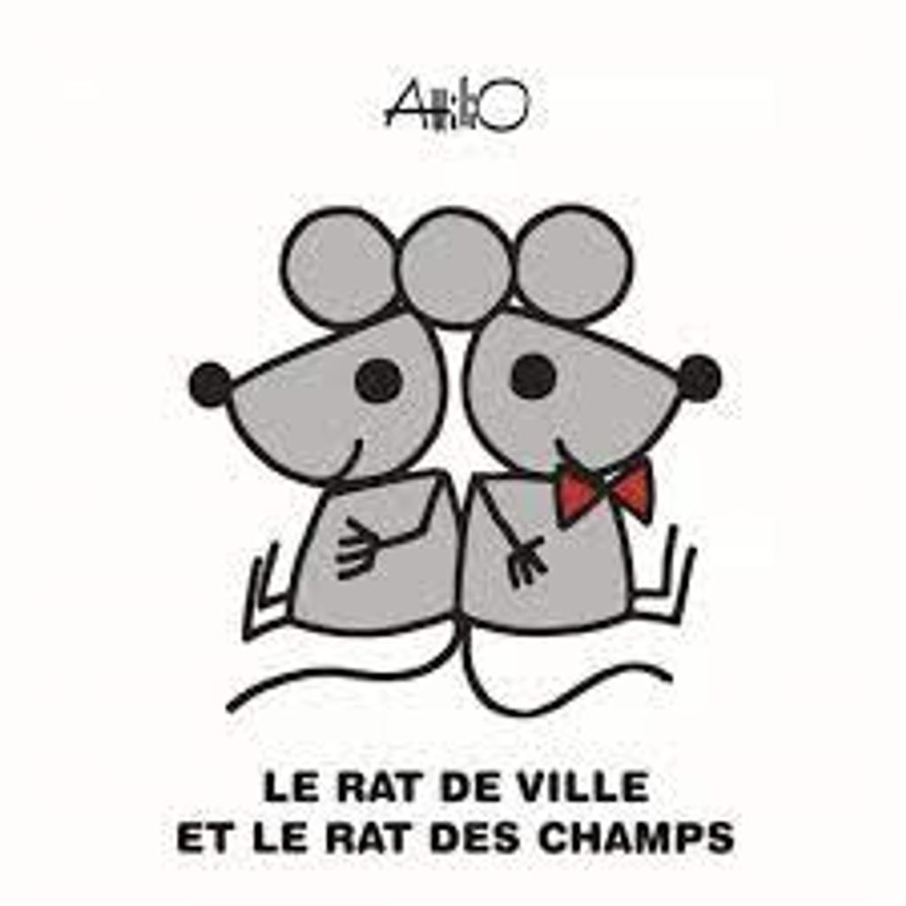 Le rat des villes et le rat des champs / Attilio   Attilio. Auteur