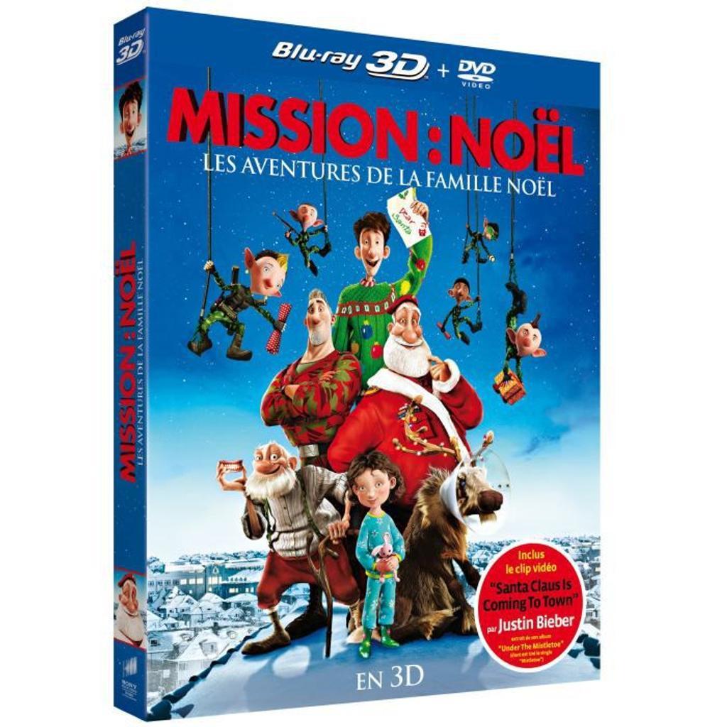 Mission Noël : les aventures de la famille Noël : 3D / Sarah Smith, réal., scénario |