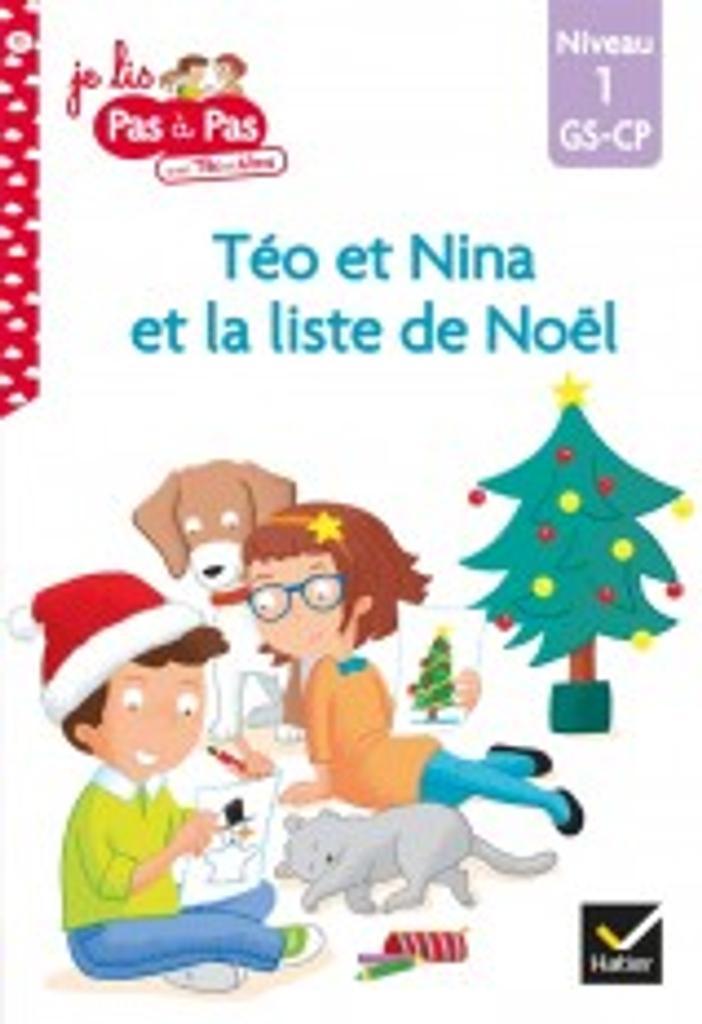 La liste de Noël : niveau1 / Isabelle Chavigny   Chavigny, Isabelle. Auteur