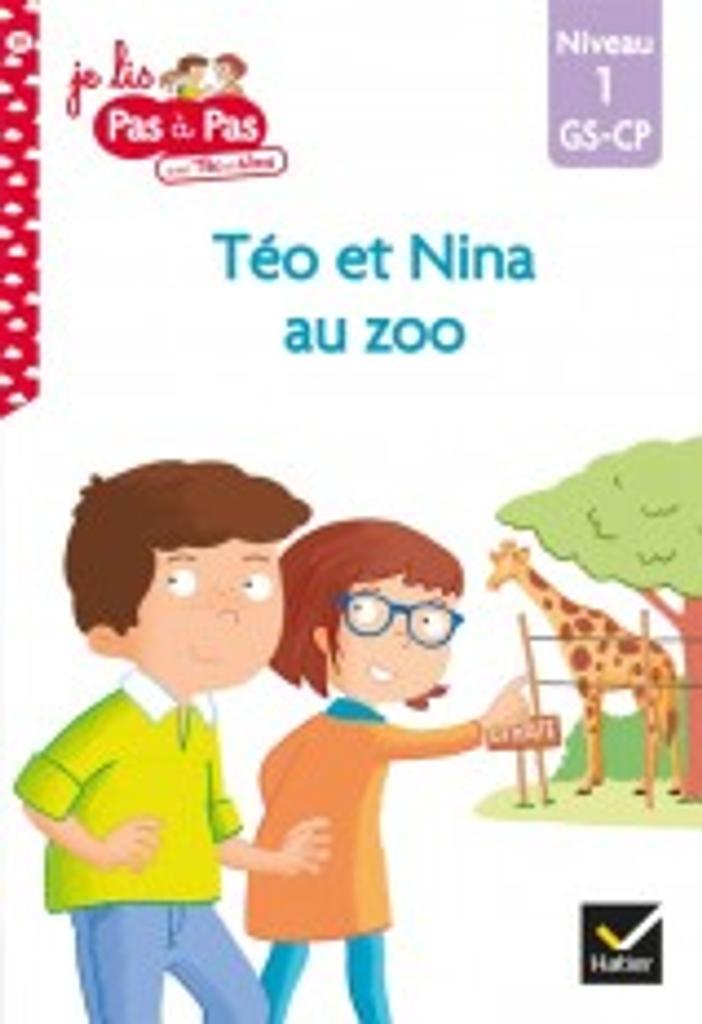Téo et Nina au zoo : niveau1 / Isabelle Chavigny   Chavigny, Isabelle. Auteur