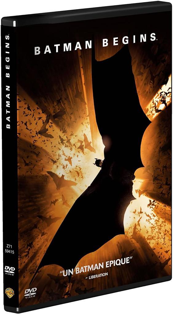 Batman begins / Christopher Nolan, réal., scénario |