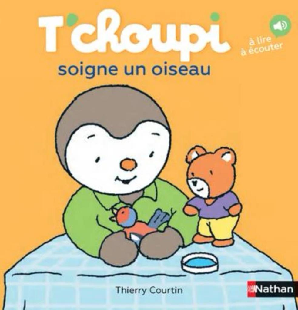 T'Choupi soigne un oiseau / Thierry Courtin |